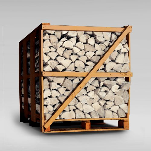 Sterling Silver Birch Firewood Logs - XL Crate