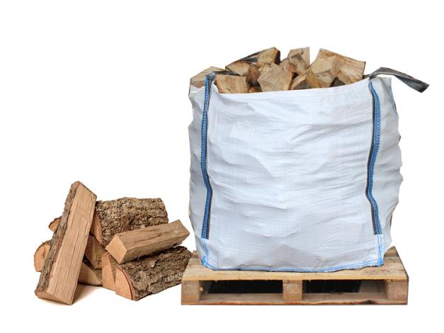 Solar Air Dried Mixed Hardwood Logs - 4 x Large Sacks