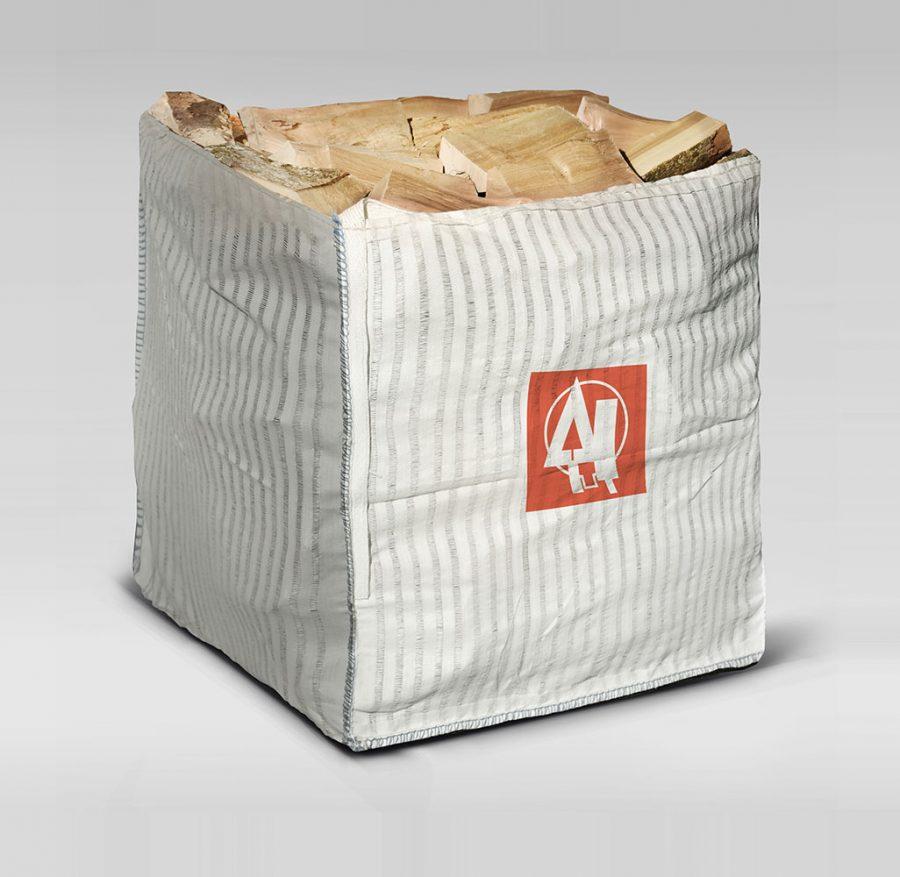 Solar Air Dried Mixed Hardwood Logs - Large Sack
