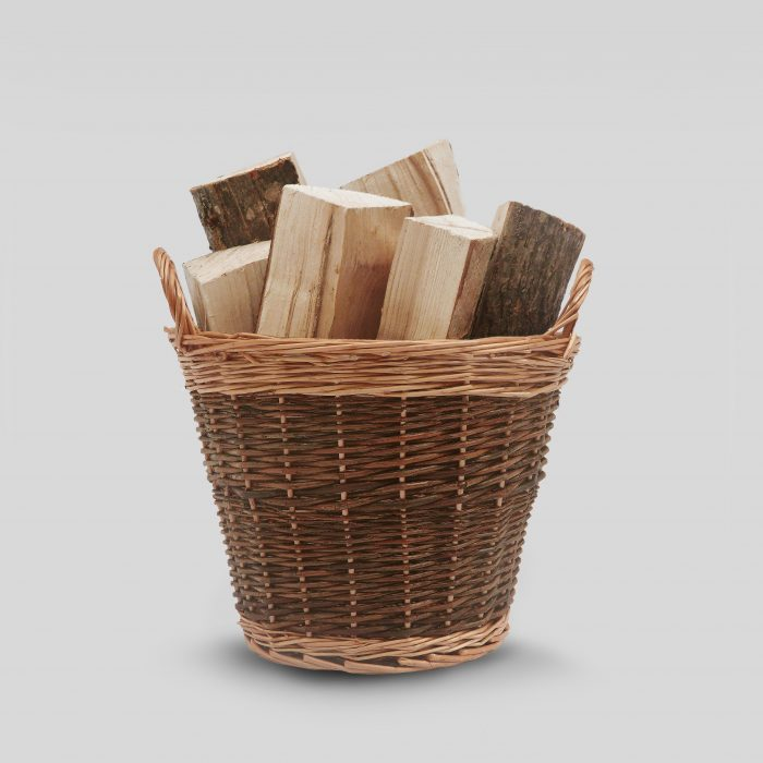 Small Willow Log Basket