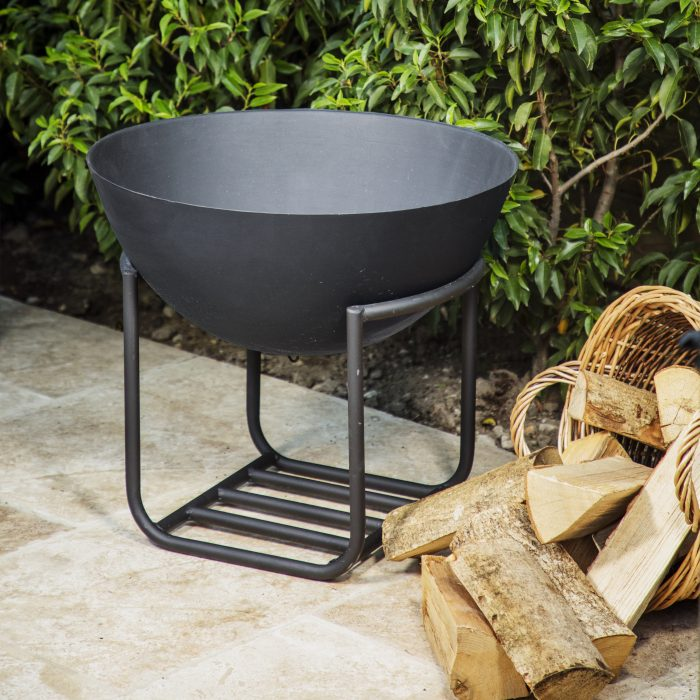 Outdoor Cast Iron Firebowl